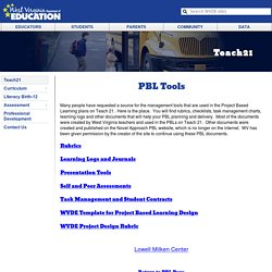 PBL Tools