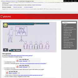 pblcmc - studiare e presentare il PBL