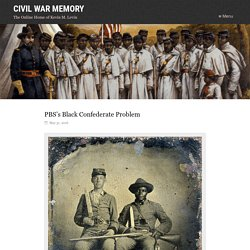 PBS's Black Confederate Problem