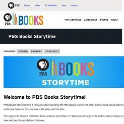 PBS Books Storytime – PBS Books