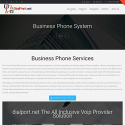 Business Phone System Services Provider- Dial Port