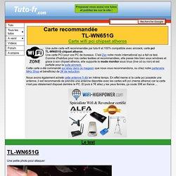 PCI atheros TL-WN650G / TL-WN651G