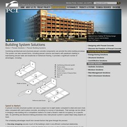 G/C PCI: Building System Solutions