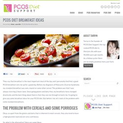 PCOS Diet Breakfast Ideas