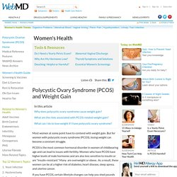 PCOS Weight Gain Causes and Treatments