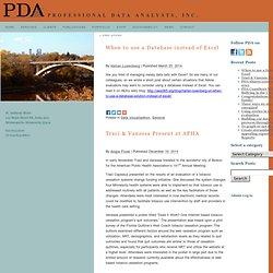 PDA News