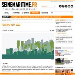 Département de la Seine-Maritime - PDALHPD 2017-2022