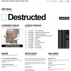 PDF Mag | Destructed Magazine - www.destructed.info