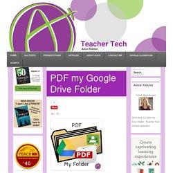 PDF my Google Drive Folder