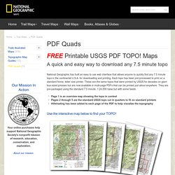PDF Quads - Trail Maps
