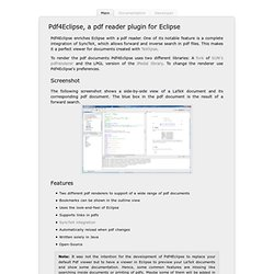 Pdf4Eclipse
