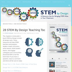PDFs of All STEM By Design's Chapter Tools