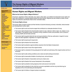 : Migrant Workers