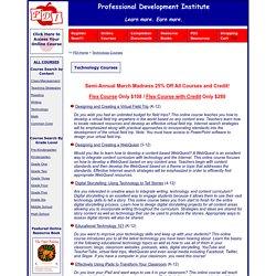PDI Technology Courses