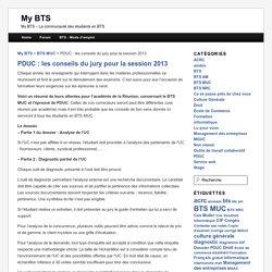 PDUC : les conseils du jury pour la session 2013