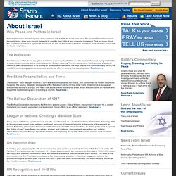 Stand for Israel: War, Peace and Politics