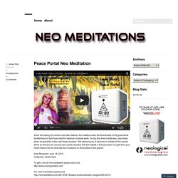 Peace Portal Neo Meditation