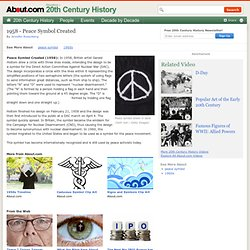 Peace Symbol - The History of the Peace Symbol