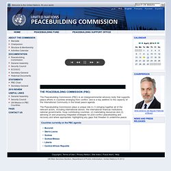ited Nations Peacebuilding Commission