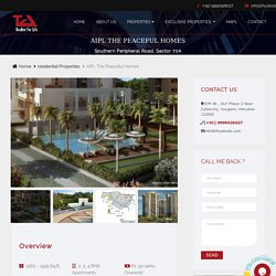 The Peaceful Homes Gurgaon - Find Price, Gallery, Plans, Amenities & Brochure