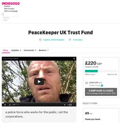 PeaceKeeper UK Trust Fund