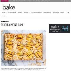 Peach Almond Cake - Bake from Scratch