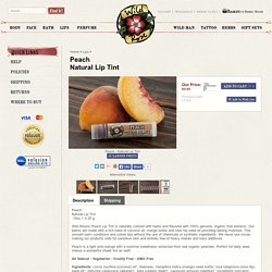 Peach Natural Lip Tint