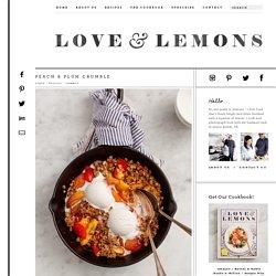 Peach & Plum Crumble Recipe