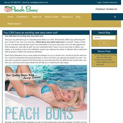 PeachBuns brazilian Bikini Swimwear with scrunch butt bikini peach bottoms - PeachBuns brazilian Bikini Swimwear with scrunch butt bikini peach bottoms