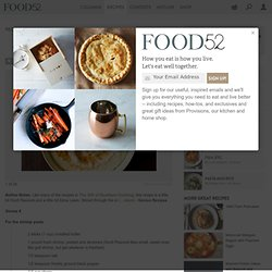 Edna Lewis & Scott Peacock's Shrimp Grits recipe on Food52