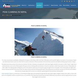 Peak Climbing in Nepal – Blue Treks