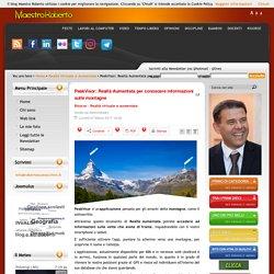 PeakVisor: Realtà Aumentata per conoscere informazioni sulle montagne
