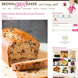 Peanut Butter-Banana Bread Recipe