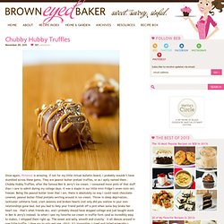 Peanut Butter-Pretzel Truffles