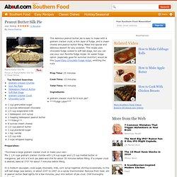 Peanut Butter Silk Pie Recipe - A No-Bake Peanut Butter Pie with Fudge Layer