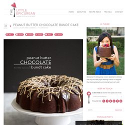 Peanut Butter Chocolate Bundt Cake - The Little Epicurean