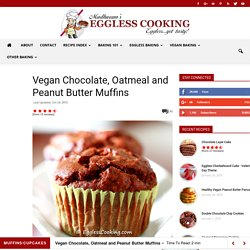 Vegan Peanut Butter Muffins Recipe