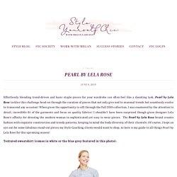 Pearl By Lela Rose