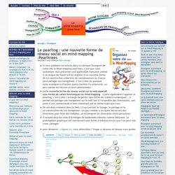 Le pearling : une nouvelle forme de réseau social en mind mapping :Pearltrees