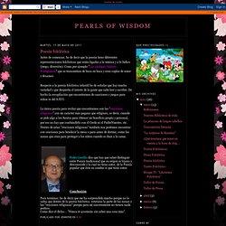 Pearls of wisdom: Poesía folclórica