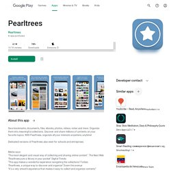 Pearltrees - Apps on Google Play
