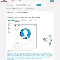 PearlTrees-展现形式新颖的网络书签服务站点_互联网产品经理―高巍谈互联网产品管理、产品创新及设计