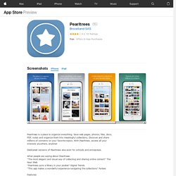 Pearltrees for iPad on the iTunes App Store