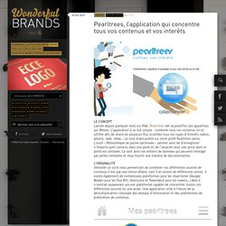 Pearltrees, l'application qui concentre tous vos contenus et vos interêts
