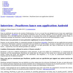 Interview : Pearltrees lance son application Android