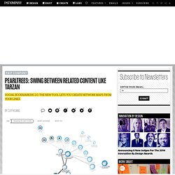 PearlTrees: Swing Between Related Content Like Tarzan | Design &