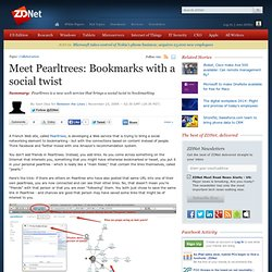 Meet Pearltrees: Bookmarks with a social twist | Between the Lin