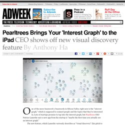 Pearltrees Brings Your Interest Graph' to the iPad