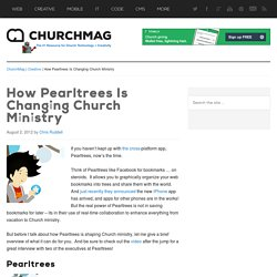 How Pearltrees Is Changing Church Ministry