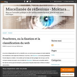 Pearltrees, ou la fixation et la classification du web - Miscell